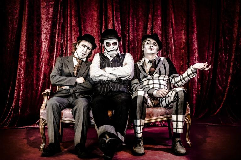 The trio themselves: The Tiger Lillies | Courtesy of Arthur Leone PR, photograph © J. Prandtauerstr
