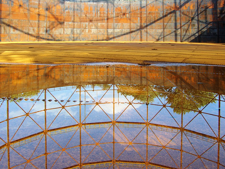 Old Gasometer in Kings Cross   © Guido Gerding/WikiCommons