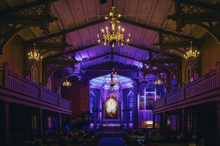 Concerts take place in majestic settings like the insides of cathedrals | Courtesy of Nordlysfestivalen