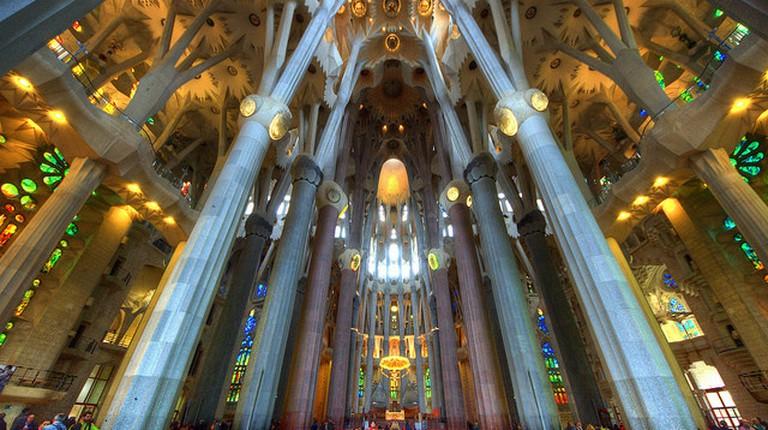 Inside Sagrada Familia|© Claude Attard/Flickr