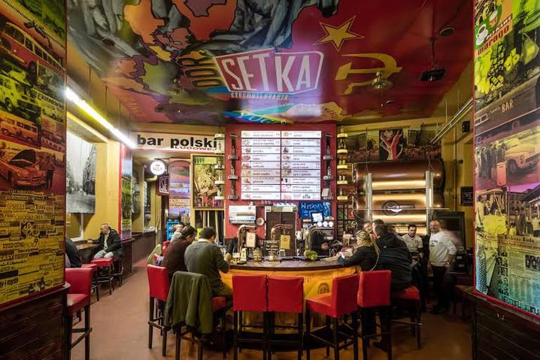 Inside Setka | Courtesy of Setka
