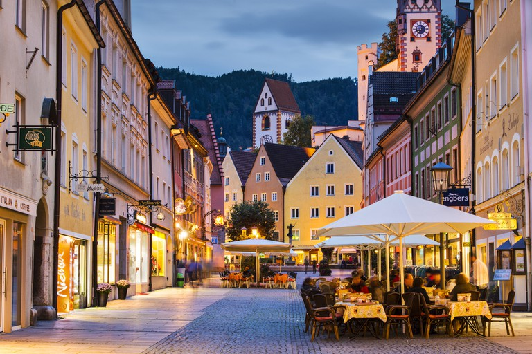 Fussen, Germany. The city was originally settled in Roman times and is situated near Neuschwanstein Castle | © Sean Pavone/Shutterstock