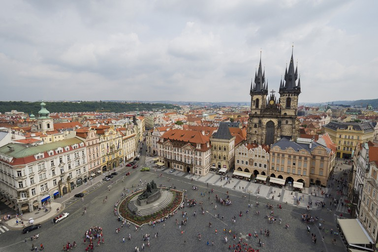 Prague's Old Town Square © Saudade Creative / Shutterstock