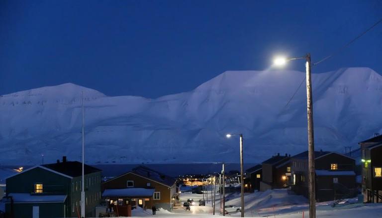 The Longyearbyen settlement   Courtesy of Polarjazz