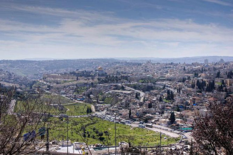 view from mt scopus