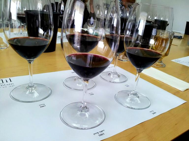 Galil Mountain Winery © Eyal Franco