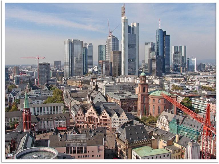 Frankfurt am Main - old and new town   © Jorbasa Fotografie/Flickr