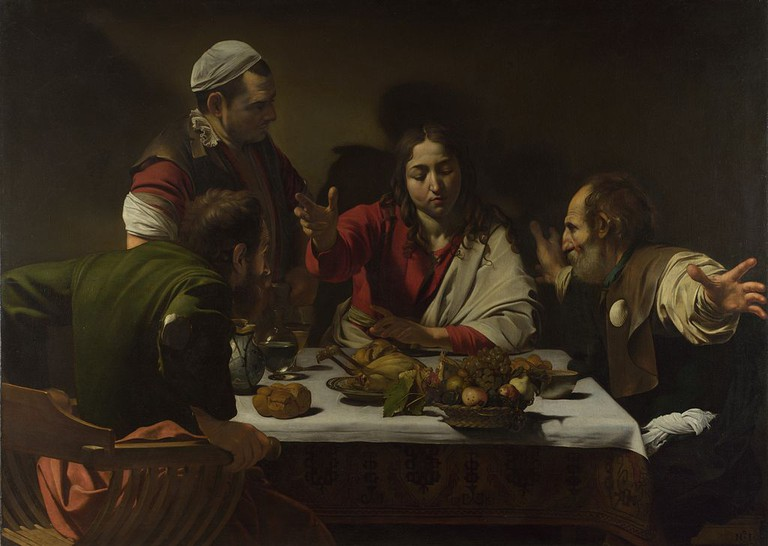 Caravaggio, The Supper at Emmaus, 1601 | © Caravaggio/WikiCommons