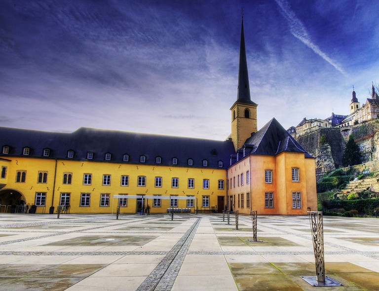 Centre Culturel de Rencontre Abbaye de Neumünster © russavia/WikiCommons