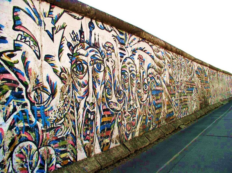Graffiti on the Berlin Wall | ©Necrophorus/WikiCommons