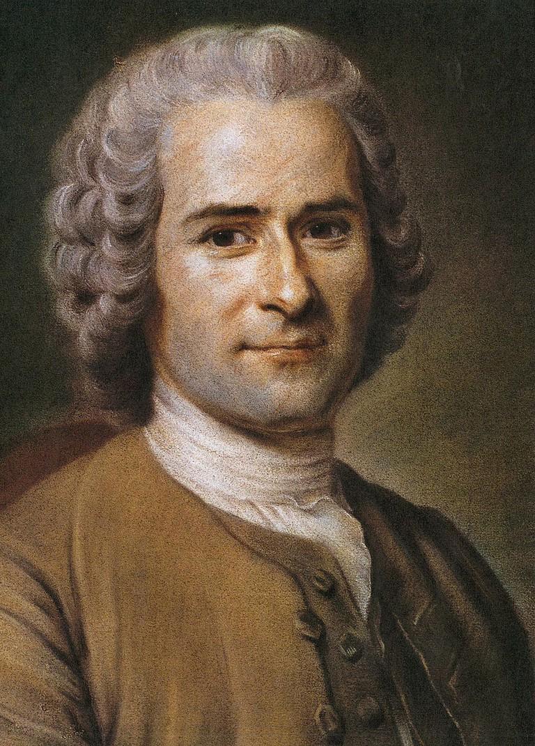 Jean-Jacques Rousseau   © Maurice Quentin de la Tour/WikiCommons