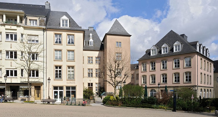 Luxembourg City: place de Clairefontaine, eastern end © Cayambe/WikiCommons