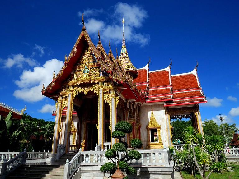 The temple of Wat Chalong, Phuket, Thailand | © Pekka Oilinki/WikiCommons
