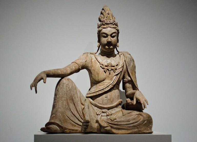 Bodhisattva Avalokiteshvara in Water Moon Form (Shuiyue Guanyin)| © Creative Commons/Shutterstock