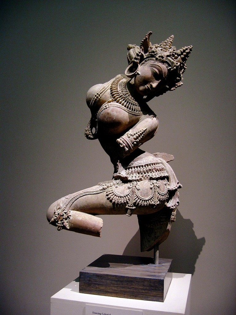 Dancing Celestial Deity (Devata) | © Creative Commons/Wikipedia