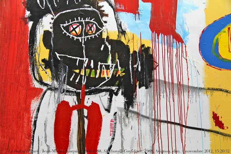Le Jour ni l'Heure by Jean-Michel Basquiat | © Renaud Camus/Flickr