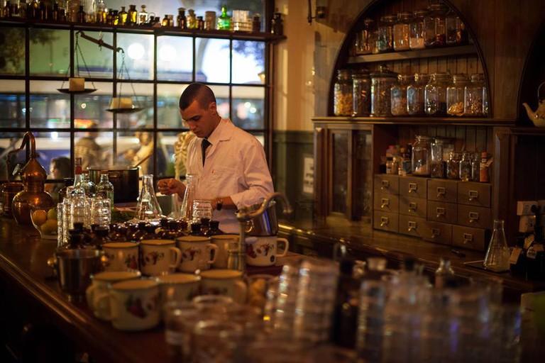 Bar at Spicehaus | © Spicehaus