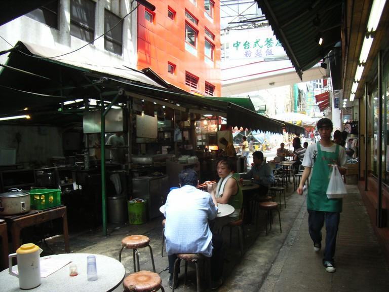 Stanley Street, HK   © TangHon/WikiCommons