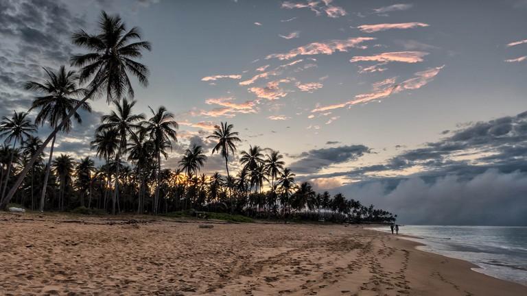 Sunset on the beach | © Joe deSousa/Flickr