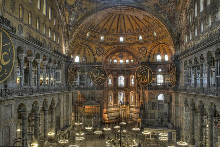 Hagia Sophia © Michael Day/WikiCommons