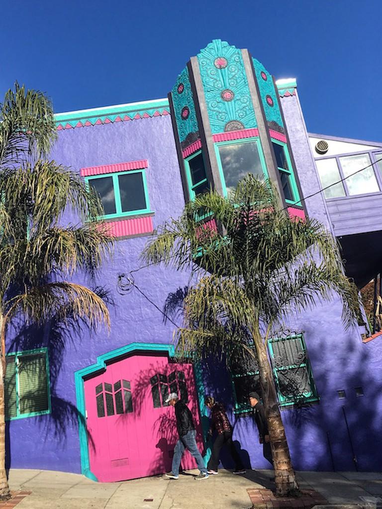 Colorful House on 17th St. © Sasha Zvereva