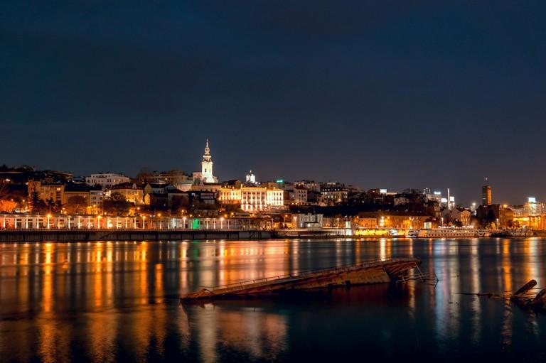 Belgrade at Night | © Mladen Coko/Flikr