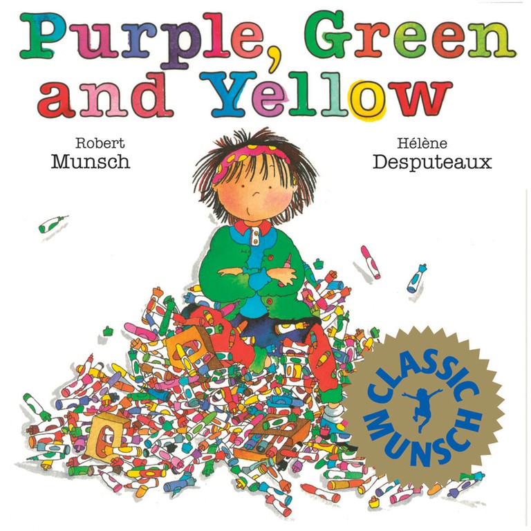 Purple, Green and Yellow © Annick Press