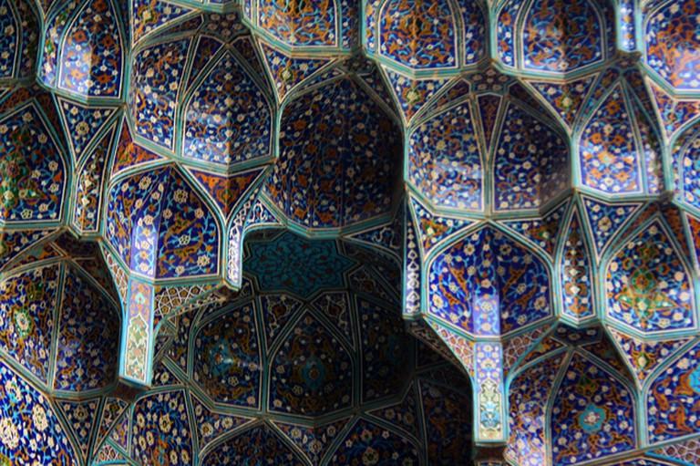 Sheikh Lotfollah Mosque ceiling   © Blondinrikard Fröberg/Flickr