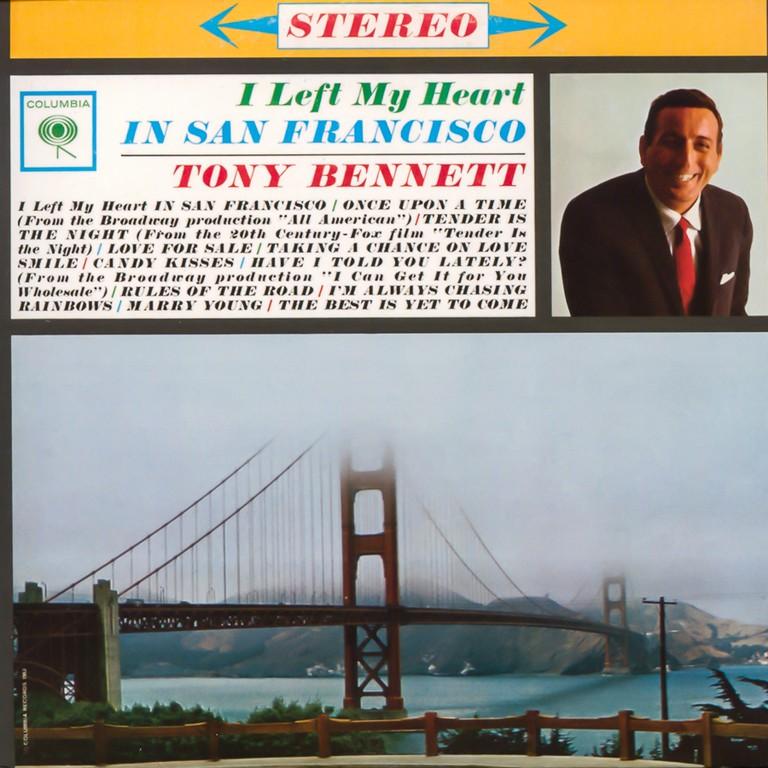 I Left My Heart in San Francisco album © Jazz Guy/ flickr