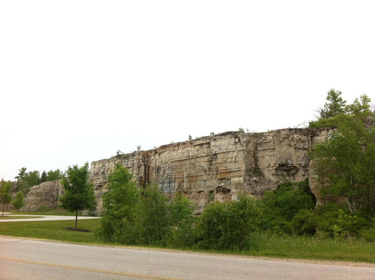 Stone Quarry in Sturgeon Bay | © megankhines/Flickr