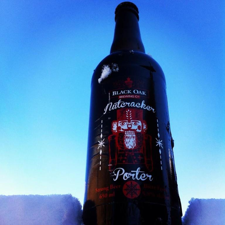 Nutcracker Porter | Courtesy of Black Oak Brewery