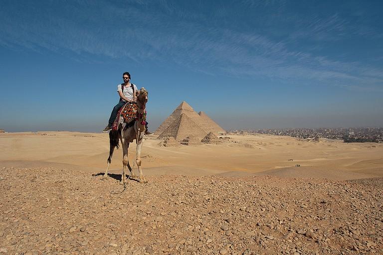 The Pyramids of Giza | ©Mr Seb/Flickr
