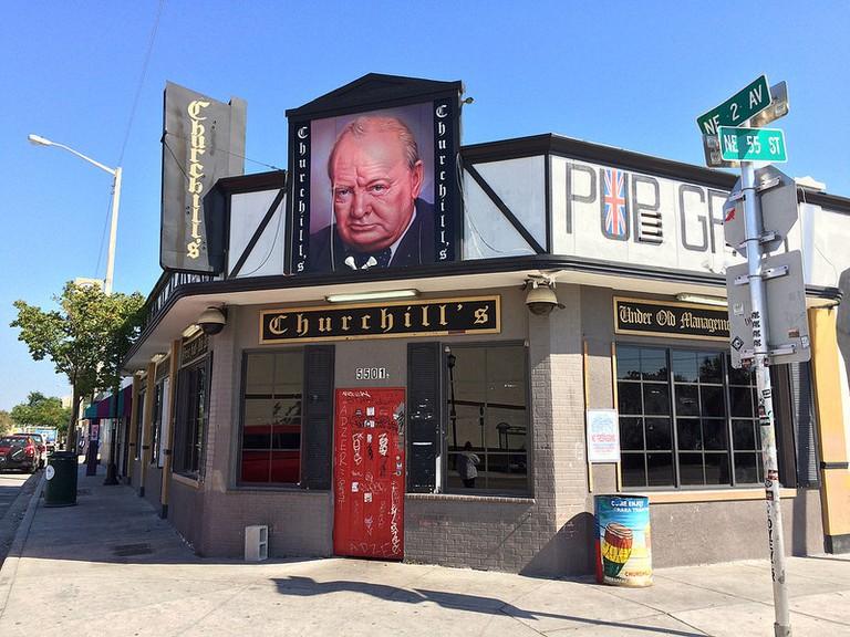 Churchill's Pub | © Phillip Pessar/Flickr