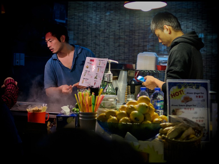 Hong Kong street food © David Guyler/Flickr