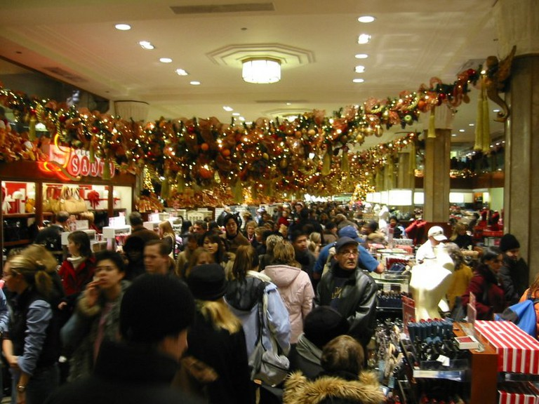 madhouse Macy's at Xmas   © Eric Mueller/Flickr