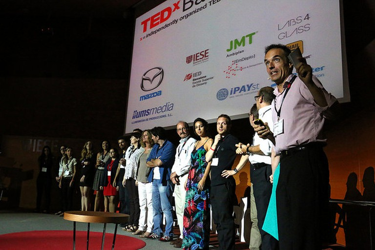 The team of speakers at TEDxBarcelona 2015 | Courtesy of José Cruset