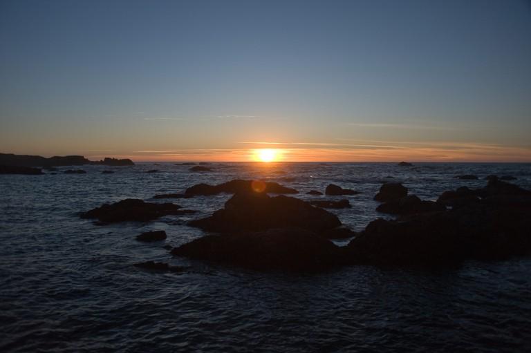 Glass Beach Sunset © oliver.dodd/flickr