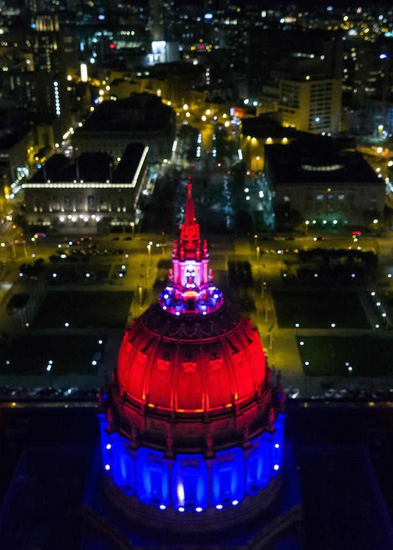 Aerial of City Hall © Sasha Zvereva