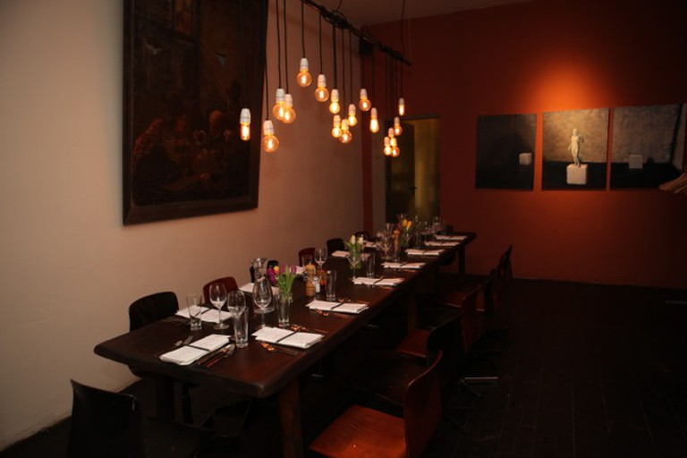 Dinner Table at Berlin Supper Club