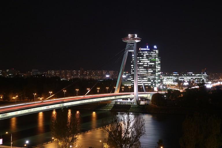 Bridge in New Town, Bratislava I © Stefan Pettersson/Flickr