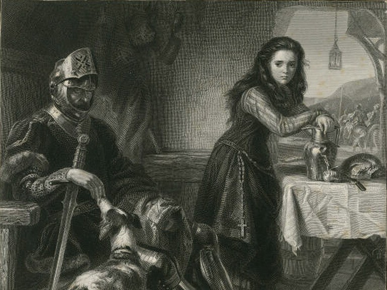 Joan contemplates the situation in Henry VI, Part 1|© Henrietta Ward 1871/Wikicommons