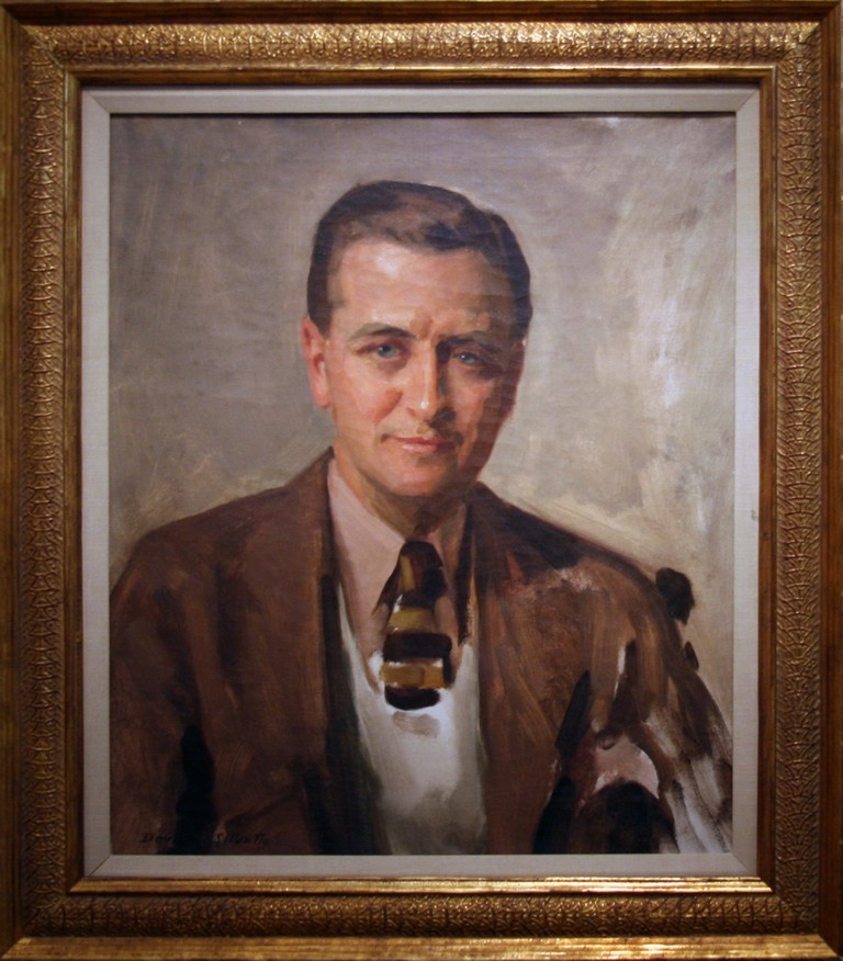 F. Scott Fitzgerald, 1935 by David Silvette, Oil on canvas | © Cliff/Flickr