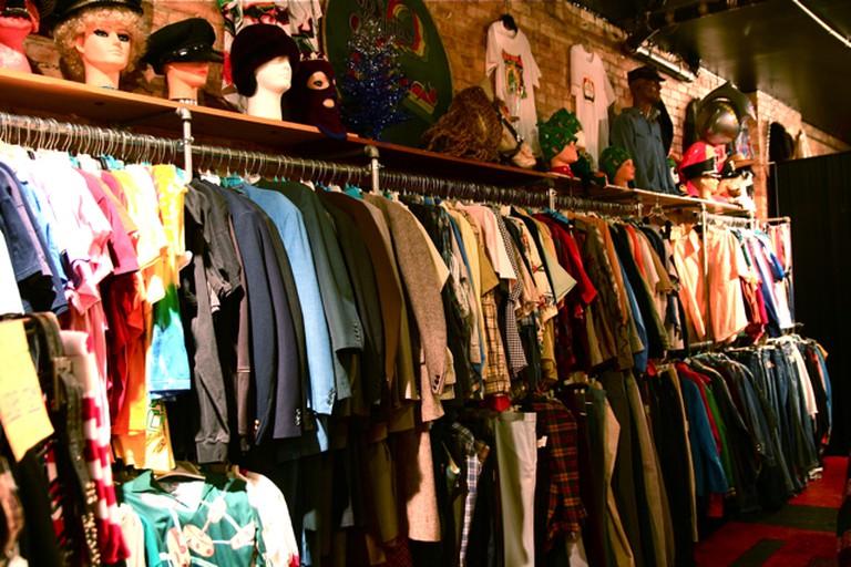 Vintage Indie Used Clothing Scavenger Hunt Shopping  ©Steven Depolo/Flickr