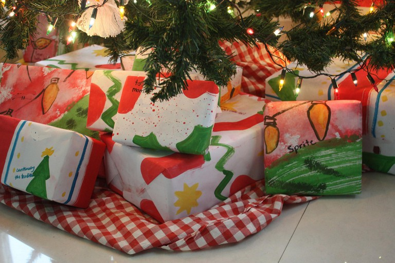 wrapped gifts under tree   ©jimmie/Flickr