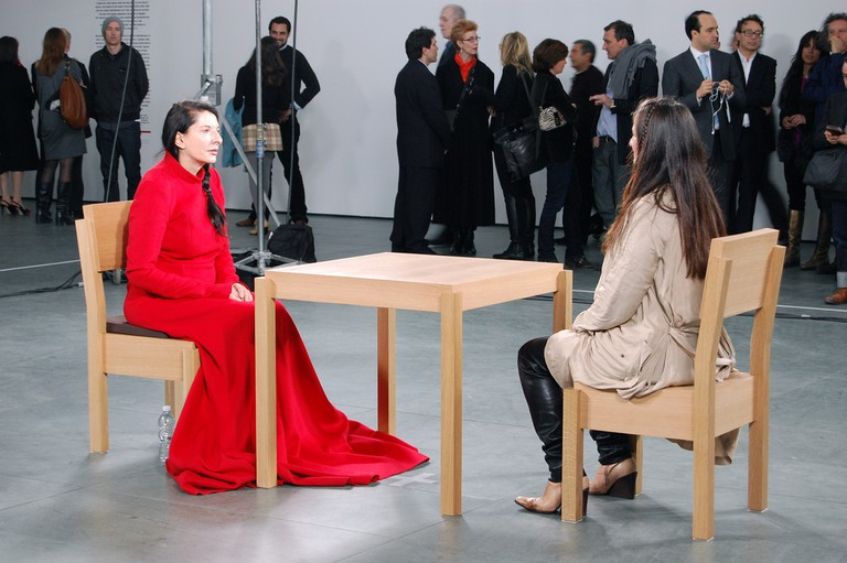 14 of the most extreme performance art pieces marina abramovi the artist is present 2010 andrew russethflickr thecheapjerseys Image collections