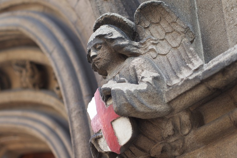 Detail at All Hallows Church | © Alan Levine / Flickr