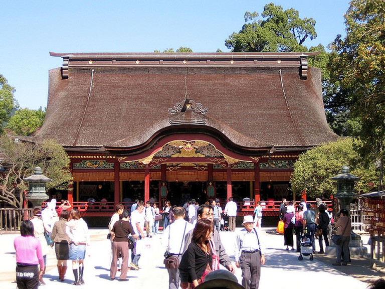 Tenji san's Shrine © Ken Conley|Flickr