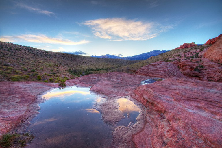 Red Rock Canyon at Sunset © Danny Garcia/Flickr