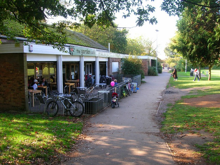 The Garden Cafe © Simon Carey/geograph