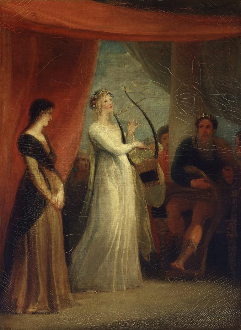 Marina singing before Pericles, Act V Scene I|© Folger Shakespeare Library/Wikicommons